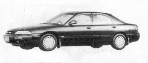 Mazda Ford Telstar SEDAN 20Vi 1991 г.