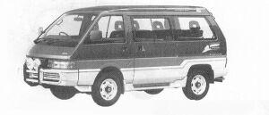 Nissan Vanette LARGO 4WD DIESEL TURBO 2000 1991 г.