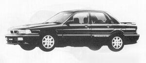 Mitsubishi Galant 2.0 DOHC TURBO VR-4 1991 г.