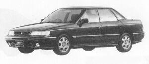Subaru Legacy 4DOOR SEDAN 2.0L VZ TYPE-R 1991 г.