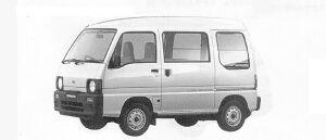 Subaru Sambar VAN  HIGH ROOF SDX (4WD) 1991 г.