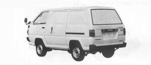 Toyota Liteace COOLING VAN 1991 г.