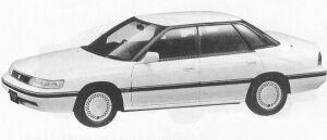 Isuzu Aska TYPE-Z 1991 г.