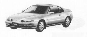 Honda Prelude Si 1991 г.