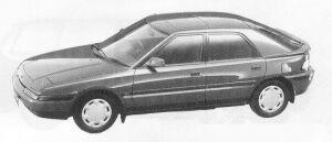 Mazda Familia ASTINA 1500 DOHC 16VALVE 1991 г.