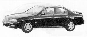 Nissan Bluebird 4DOOR SEDAN 2000SSS-LTD. 1991 г.