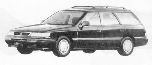 Subaru Legacy 4WD TOURING WAGON 2.0L BRIGHTON 1991 г.