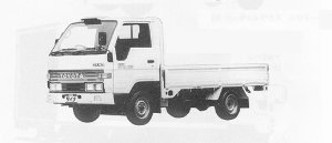 Toyota Dyna SUPER SINGLE J/L LONG DECK 1.5T DIESEL 1991 г.