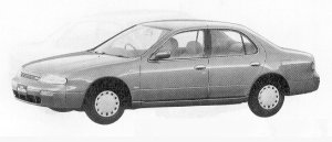 Nissan Bluebird 4DOOR SEDAN 1800SSS-V 1991 г.