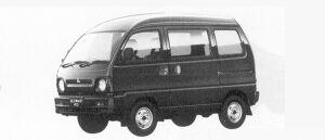 Mitsubishi Minicab VAN HIGH ROOF CL 1991 г.