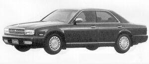 Nissan Cedric V30 TWIN CAM TURBO BLOAM G 1991 г.