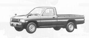 Toyota Hilux LONG BODY, LOW FLOOR, SUPER DELUXE 1991 г.