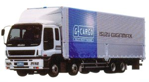 Isuzu Gigamax   G-CARGO Smoother-G CYJ (8X4) 272kW (370PS) Intercooler Turbo, 4bag Air-suspension 2005 г.
