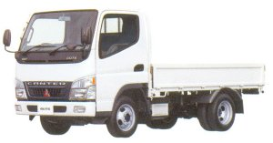 Mitsubishi Fuso CANTER GUTS All Low Floor, 4WD, Long Body Truck 2005 г.