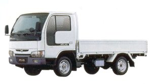 Nissan Atlas 10 Full Super Low, Long Body, Wooden Carrier 2005 г.