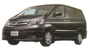"Toyota Alphard HYBRID ""G Edition"" 7-seaters 2005 г."