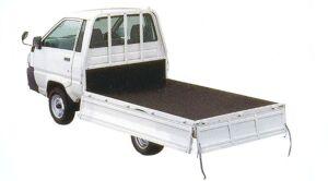 Toyota Liteace Truck 2WD, Super Single, Just Low, Standard Deck, Wood Deck, Drop Side Gate Body, DX1.8 Gasoline 2005 г.