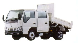Mazda Titan DUMP 2 ton 4.8 liter Full Wide &Low, 2WD Double Cab, Delux 2005 г.