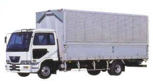 Nissan Condor Air-suspension Wing Van 2005 г.