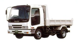 Isuzu Forward Short-Cab Smoother-F Reinforced Dump Truck, 140kW (190PS) 2005 г.