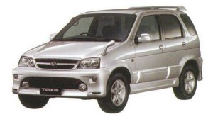 Daihatsu Terios CUSTOM MEMORIAL EDITION 2WD 2005 г.