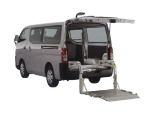 Nissan NV350 Caravan Van with Lifter 2016 г.
