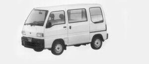 Subaru Sambar VAN STANDARD ROOF SDX 1996 г.