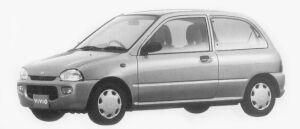 Subaru Vivio 3DOOR el-s 1996 г.