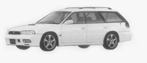 Subaru Legacy TOURING WAGON GT-B 1996 г.