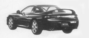 Mitsubishi Gto TWIN TURBO MR 1996 г.