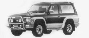 Nissan Safari HARD TOP SPRIT TYPE II (DIESEL 2800) 1996 г.