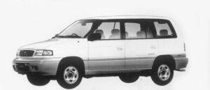 Mazda Efini MPV TYPE G-FOUR 2500 DIESEL TURBO 1996 г.