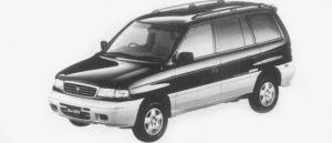 Mazda Efini MPV TYPE R-FOUR 2500 DIESEL TURBO 1996 г.