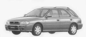 Subaru Impreza SPORTS WAGON C'Z 1996 г.