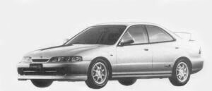 Honda Integra 4DOOR HARD TOP  TYPE R 1996 г.