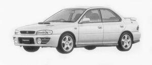 Subaru Impreza HARD TOP SEDAN WRX 1996 г.