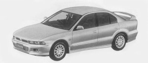 Mitsubishi Galant VR-G TOURING 1996 г.