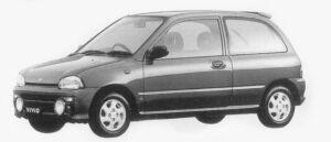 Subaru Vivio 3DOOR M300-TYPE S 1996 г.