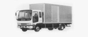 Isuzu Forward DRY VAN 210PS 3.65T 1996 г.