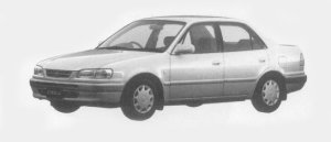 Toyota Corolla SEDAN 1.5SE-SALOON G PACKAGE 1996 г.