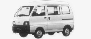 Mitsubishi Minicab VAN 2WD CD HIGH ROOF 1996 г.