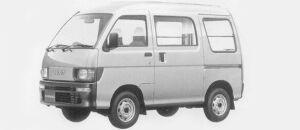 Daihatsu Hijet VAN SUPER DELUXE 4WD 1996 г.