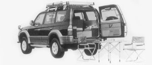 Toyota Land Cruiser Prado ACTIVE VOCATION TX 1996 г.
