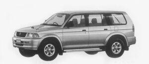 Mitsubishi Challenger Z 1996 г.