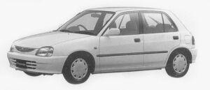 Daihatsu Charade CX 4WD 1996 г.