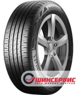 Летниe шины Continental Ecocontact 6 195/60 15 дюймов новые в Уфе