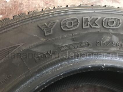 Зимние шины Yokohama Geolandar i/t 215/80 15 дюймов б/у во Владивостоке