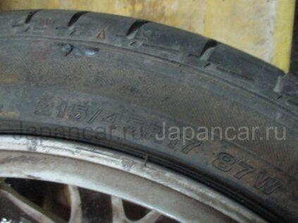Летниe шины Bridgestone B style ex 215/45 17 дюймов б/у в Новосибирске