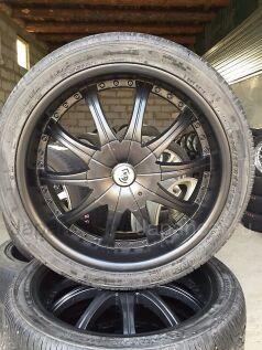 Летниe колеса Roadstone 285/35 22 дюйма б/у в Ангарске