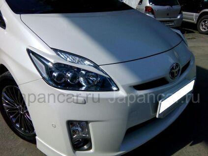 Накладки на фары на Toyota Prius во Владивостоке